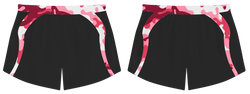 Custom pink camo adult youth volleyball jersey - Jersey