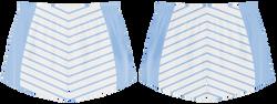 Custom semi geometric lines adult youth volleyball jersey - Jersey