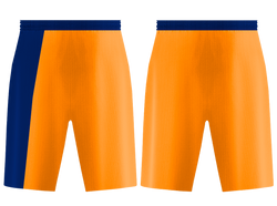 Custom orange solids adult youth soccer jersey - Jersey