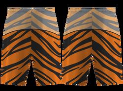 Custom tiger animal adult youth unisex basketball jersey - reversible uniform - Jersey