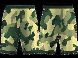Custom hunter camo adult youth unisex basketball jersey - reversible uniform - Jersey